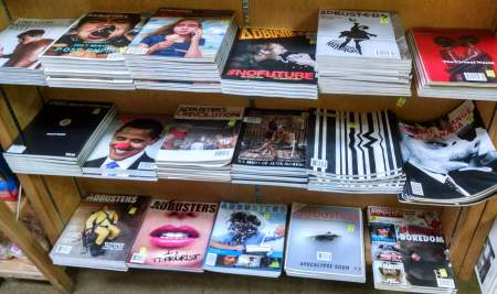 Past issue of Adbusters on sale for Monday Madness January 2016