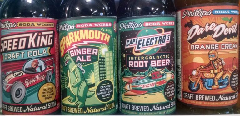 Phillip's Soda Works New Products in our stores
