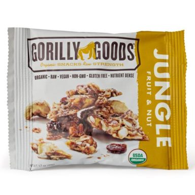 Gorilly Foods New Products in our stores