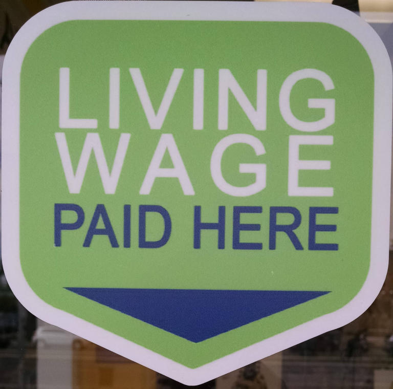 Living Wage Paid Here