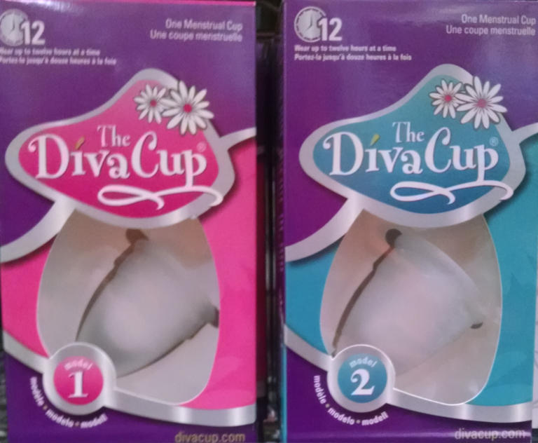Reusable Menstrual Products - Diva Cups