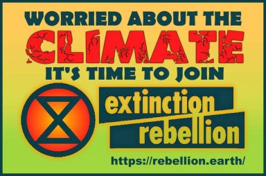 Time to Join Extinction Rebellion